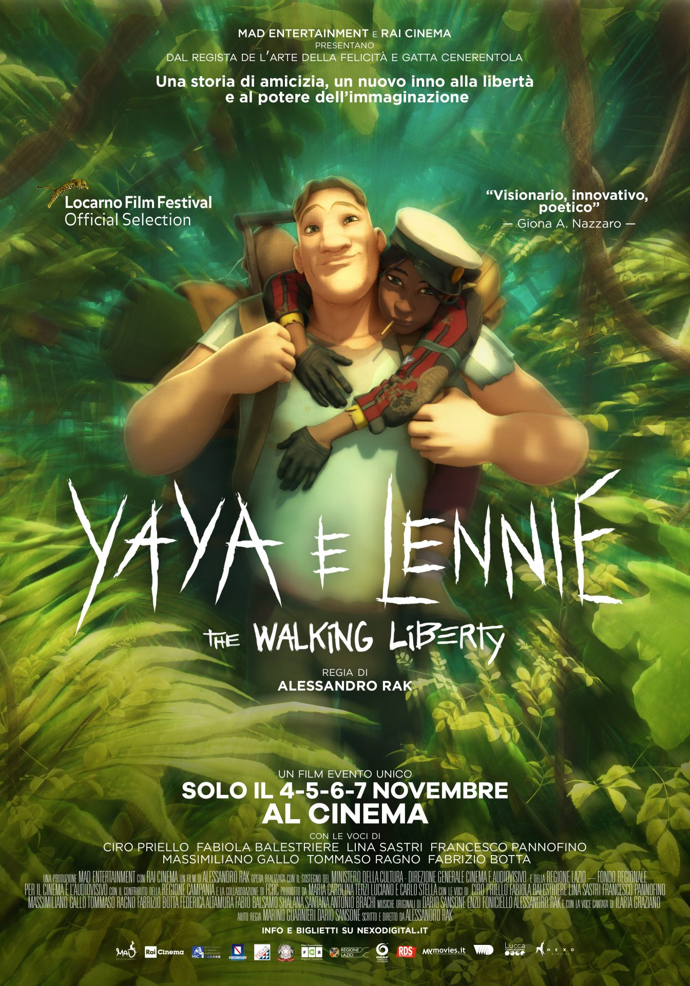 Yaya e Lennie – The Walking Liberty